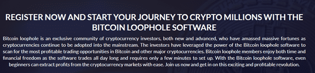 Bitcoin Loophole Review - Benefits