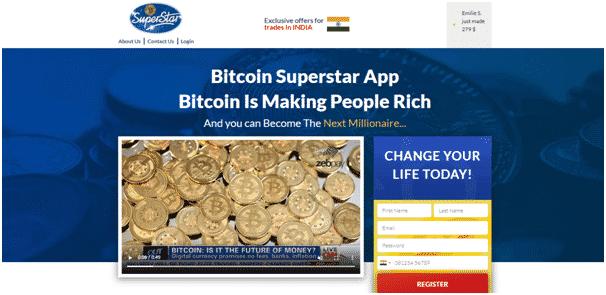 Bitcoin Superstar Review - Registration