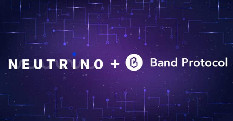 Neutrino Partners with Band Protocol