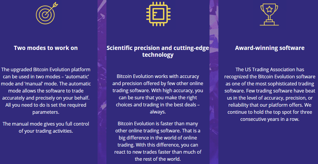 Bitcoin Evolution Reviews - Advantages