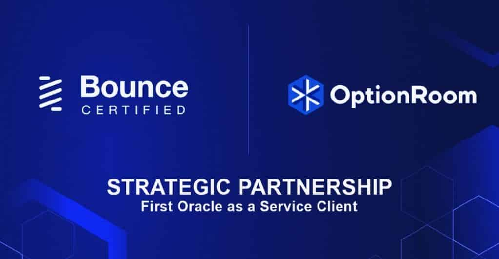 Bounce Finance and OptionRoom Partner