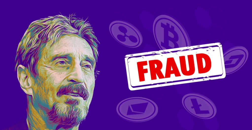 U.S Authorities Charge John McAfee For Cryptocurrency Fraud