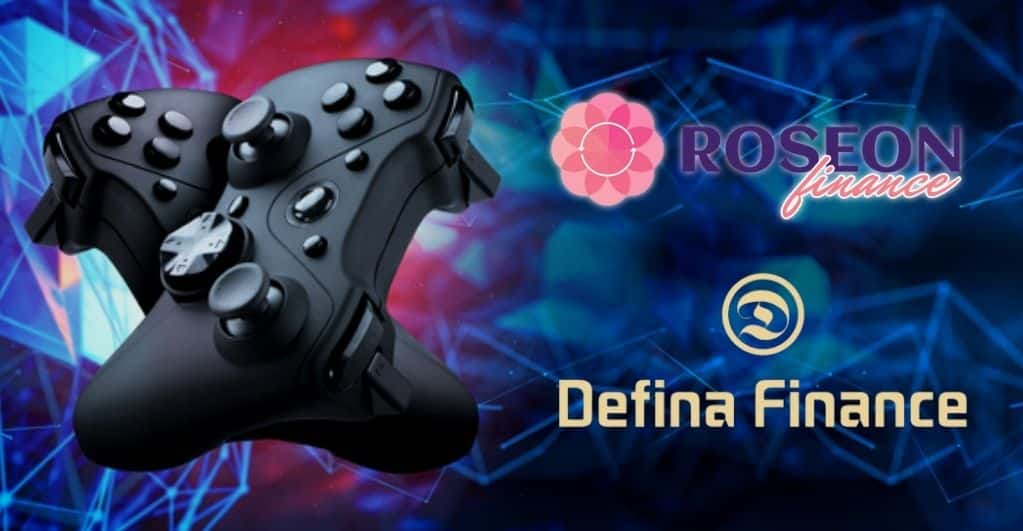 Defina Finance Teams With Roseon Finance to Support NFT Gaming for Users
