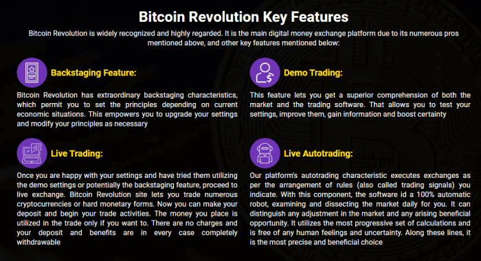 Bitcoin Revolution Review - Key Features